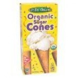 [Let`S Do...Organic]  Sugar Cones (12ct)  At least 95% Organic