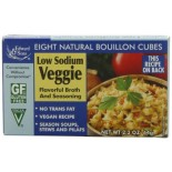 [Edward & Sons] Bouillon Veggie, Low Sodium, Cubes
