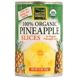 [Native Forest]  Pineapple Slices  100% Organic