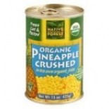 [Native Forest]  Pineapple, Crushed  100% Organic