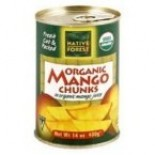 [Native Forest]  Mango Chunks  100% Organic