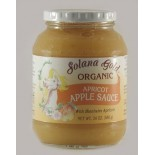 [Solana Gold Organics] Applesauce Apricot  At least 95% Organic