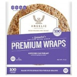[Angelic Bakehouse] Wraps Sprouted Artisan 7 Grain, 6Pk