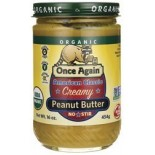 [Once Again] Nut Butters Peanut, American Classic, Smooth  At least 95% Organic