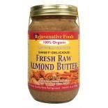 [Rejuvenative Foods] Raw Nut/Seed Butter Almond, Low Temp, Salt Free  100% Organic