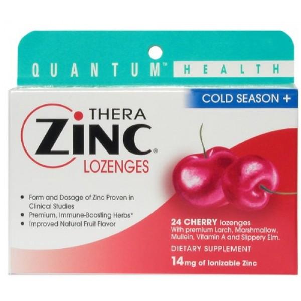 [Quantum] Lozenges Thera Zinc, Cherry