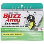 [Quantum] Repellent Buzz Away Extreme Towelettes