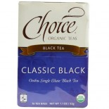 [Choice Organic Teas] Loose Leaf-Fair Trade Certified Teas Black Tea FOP India  At least 95% Organic