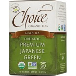 [Choice Organic Teas] 6/16 Bag Premium Japanese Green  At least 95% Organic