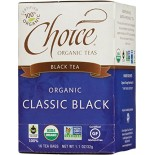[Choice Organic Teas] 6/16 Bag-Fair Trade Certified Teas Black  At least 95% Organic