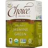 [Choice Organic Teas] 6/16 Bag-Fair Trade Certified Teas Jasmine Green  At least 95% Organic