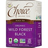 [Choice Organic Teas] 6/16 Bag-Fair Trade Certified Teas Wild Forest Black  At least 95% Organic