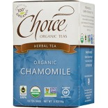 [Choice Organic Teas] 6/16 Bag-Fair Trade Certified Teas Chamomile  At least 95% Organic