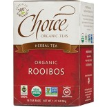 [Choice Organic Teas] 6/16 Bag-Fair Trade Certified Teas Rooibos  At least 95% Organic