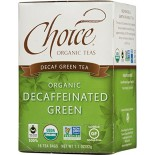[Choice Organic Teas] 6/16 Bag Green, Decafinated  At least 95% Organic