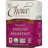 [Choice Organic Teas] 6/16 Bag-Fair Trade Certified Teas English Breakfast  At least 95% Organic