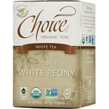 [Choice Organic Teas] 6/16 Bag-Fair Trade Certified Teas White  At least 95% Organic