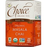 [Choice Organic Teas] 6/16 Bag Chai, Masala  At least 95% Organic