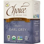 [Choice Organic Teas] 6/16 Bag-Fair Trade Certified Teas Earl Grey  At least 95% Organic