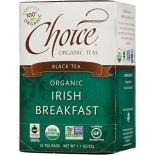 [Choice Organic Teas] 6/16 Bag-Fair Trade Certified Teas Irish Breakfast  At least 95% Organic