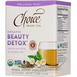 [Choice Organic Teas] 6/16 Bag- Wellness Teas Beauty Detox  At least 95% Organic