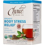 [Choice Organic Teas] 6/16 Bag- Wellness Teas Body Stress Relief  At least 95% Organic