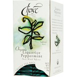 [Choice Organic Teas] 6/20 Bag Liquorice Peppermint  At least 95% Organic