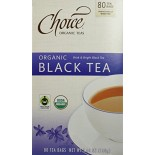 [Choice Organic Teas]  Value Pack, Black  At least 95% Organic