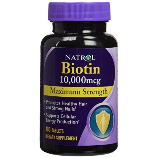[Natrol] Specialty Products Biotin, 10000mg