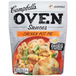 [Campbell] Grill Sauces Chicken Pot Pie