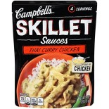 [Campbell] Skillet Sauces Thai Grn Curry w/Lmngrss & Basil