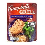 [Campbell] Grill Sauces Cheddar Applewood Bacon Chicken