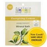 [Aura Cacia] Aromatherapy Mineral Baths Energizing Lemon