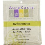 [Aura Cacia] Aromatherapy Mineral Baths Relaxing Sweet Orange