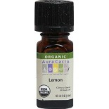 [Aura Cacia] Organic Essential Oil Lemon  At least 95% Organic