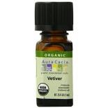 [Aura Cacia] Organic Essential Oil Vetiver  At least 95% Organic