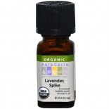 [Aura Cacia] Organic Essential Oil Lavender, Spike  At least 95% Organic