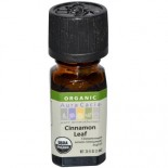 [Aura Cacia] Organic Essential Oil Cinnamon Leaf  At least 95% Organic