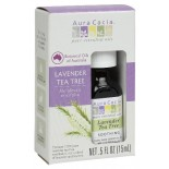 [Aura Cacia] Essential Oils Lavender Tea Tree