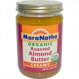 [Maranatha] Almond Butter Roasted, Creamy, No Salt  At least 95% Organic