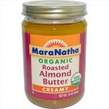 [Maranatha] Almond Butter Roasted, Creamy, No Salt  At least 95% Organic
