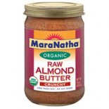 [Maranatha] Almond Butter Raw, Crunchy  At least 95% Organic