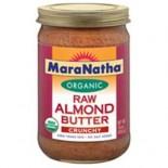 [Maranatha] Almond Butter Raw, Crunchy  At least 95% Organic