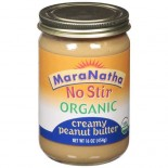 [Maranatha] Peanut Butter No Stir Creamy  At least 95% Organic