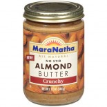 [Maranatha] Almond Butter Crunchy, No Stir, All Natural