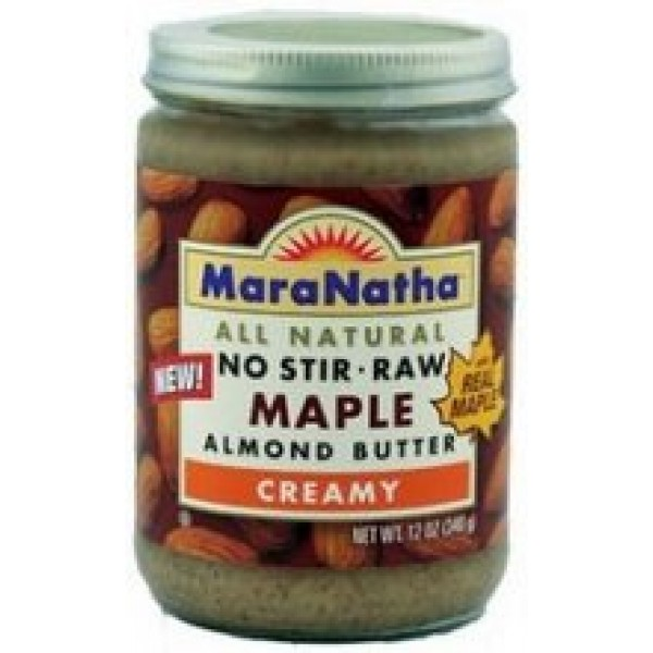 [Maranatha] Almond Butter Maple Almond, Raw, No Stir