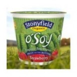 [Stonyfield Farm] O`Soy Strawberry  At least 95% Organic