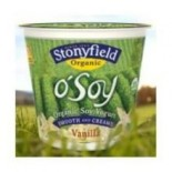 [Stonyfield Farm] O`Soy Vanilla  At least 95% Organic