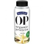[Stonyfield Farm] Adult Protein Drinks Vanilla  At least 95% Organic