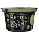 [Stonyfield Farm] Dairy Snack, Lowfat Petite Creme Vive la Vanilla  At least 95% Organic
